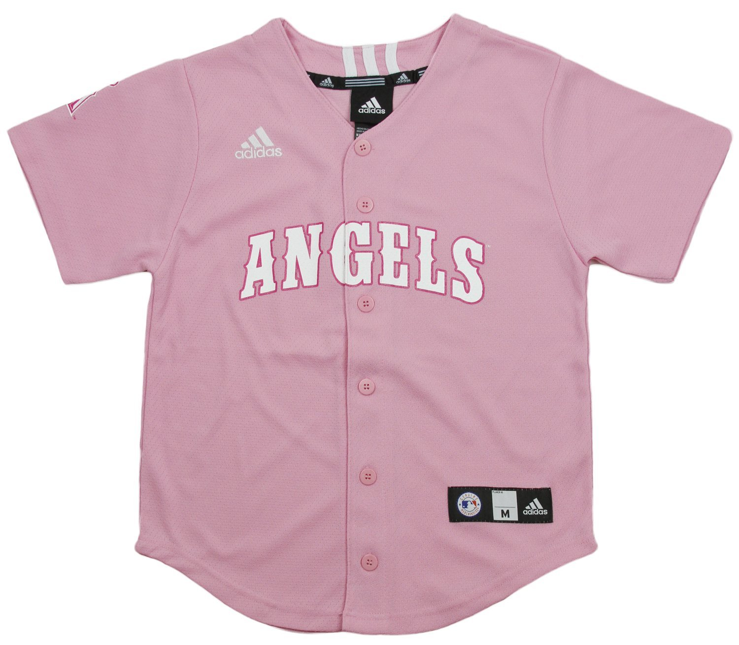 87823db896a Los Angeles Angels MLB Big Girls Screen Printed Jersey