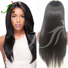 Tangle free wholesale 7A Brazilian virgin human hair micro rings loop straight hair extensions