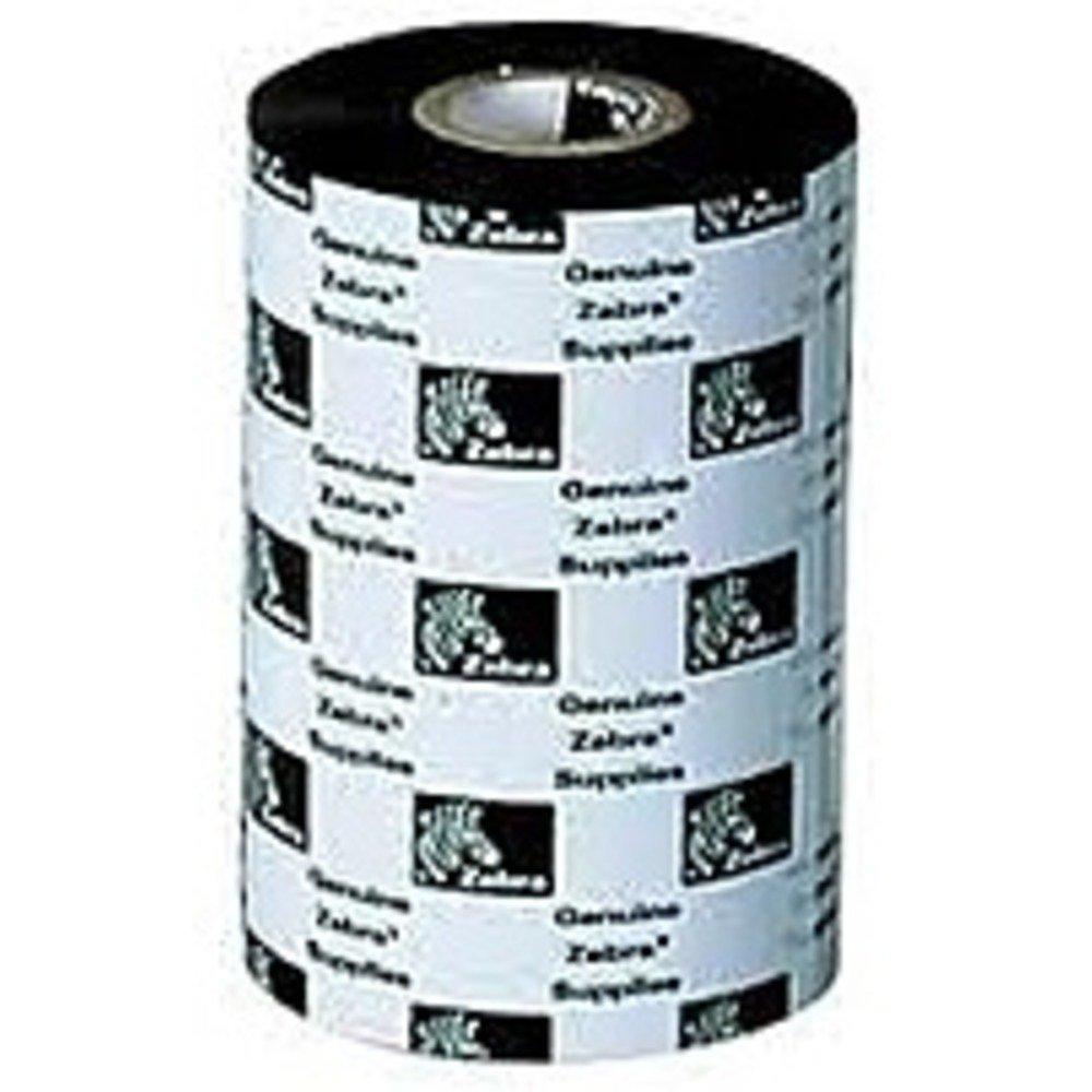Zebra 800132-102-R 3200 Performance Wax Ribbon - 1 Roll - 2.24-inch x 243 Feet - Black