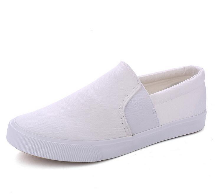 Factory wholesale cheap shoes men casual mulit color white canvas shoes f31920bc3