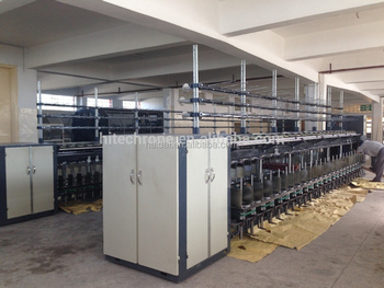 High speed pp yarn twine thread plying and twisting machine in one
