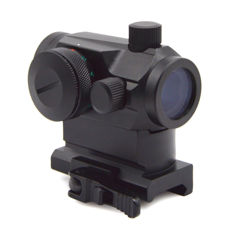Freehawk Rifle scope/Gun scope/Gun sights/Starter Packs/Scope Sight Tactical Mini Micro Reflex Red Dot Scope Sight with QD Quick Riser Mount