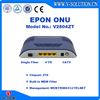 Single Fiber FTTH WDM BOSA Solution GEPON 4FE and CATV ONU with WEB Management