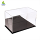 Customized size clear acrylic shoe display show case