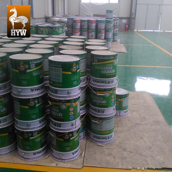 white waterproof coating for the concrete floor