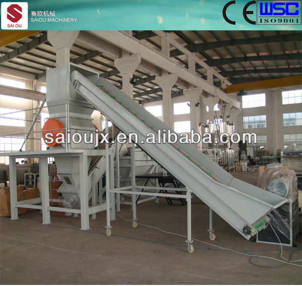 PE film washing machine from zhangjiagang
