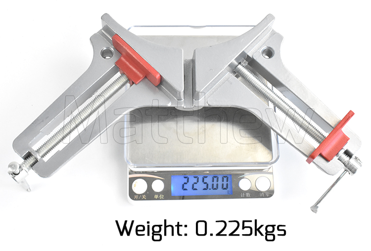 Adjustable Sliver Heavy Duty Right Angle Clamp for Woodworking