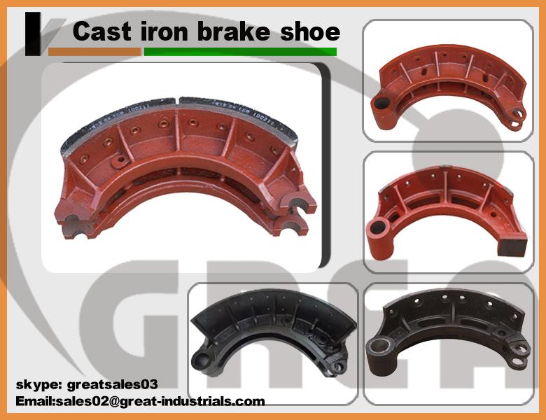 K1174 Chinese Car Brake Shoe Supplier