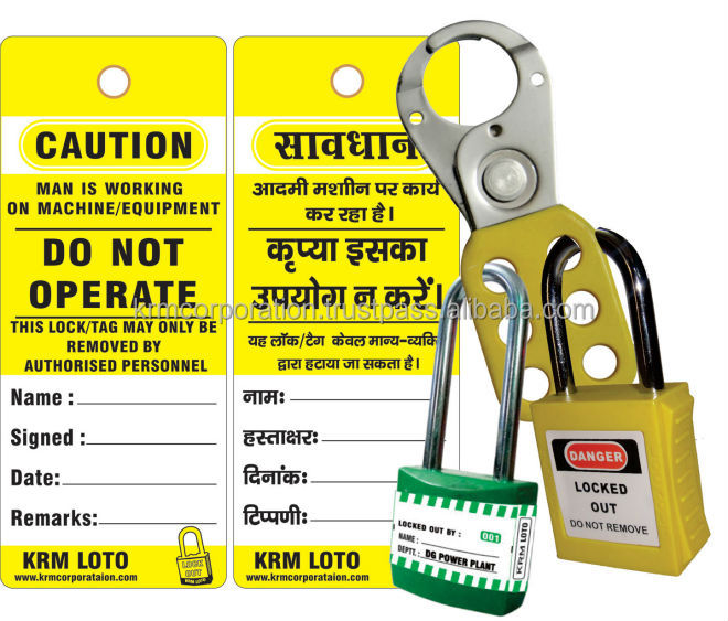 lockout tag & labels