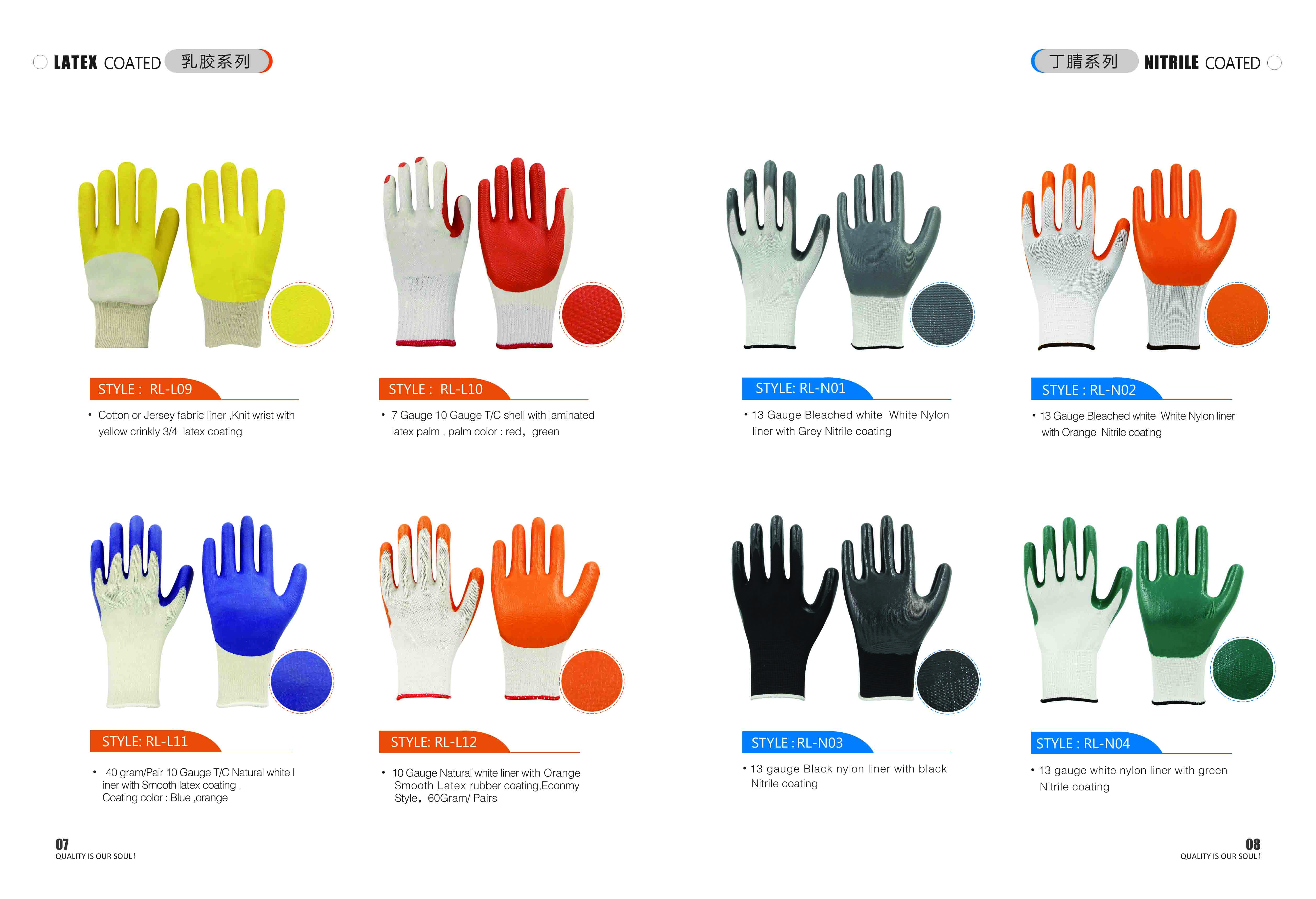 10G Polyester Latex Coated Handjob Labor Glove - Buy Polyester Latex Coated Handjob -2853