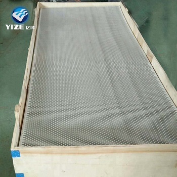 Porzellanfabrik Aluminium Verbundplatte Lochplatte Eisenplatte