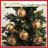 "Christmas Decorations - 6pk 80mm Shatterproof ""Snowball"" Christmas Ball Ornaments"