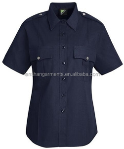 police uniform shirt for ladies short sleeve