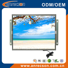 USB powered touch screen SAW/Capacitive/Resistive/IR DC12V(Support 24V) LED backlit 17 inch open frame LCD monitor with VGA DVI