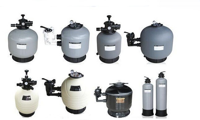 Wholesale Fiberglass Material Six Way Multi Port Valve Top Mounted Swimming pool sand filter