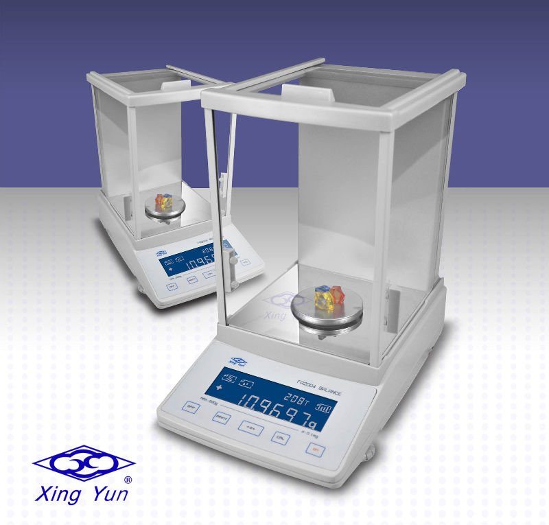 XingYun brand lab precision weighing analytical balance 0.1mg