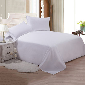 Best selling egypt cotton hotel bed sheets set white from china guangzhou