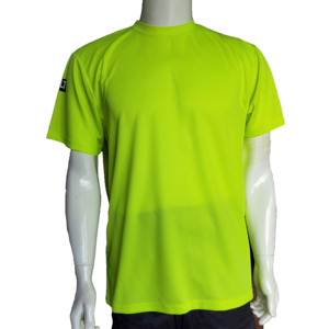 Neon yellow quick dry shirt for men