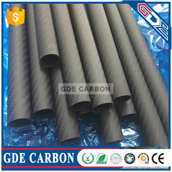 0.40mm carbon fiber tubes for water fed pole