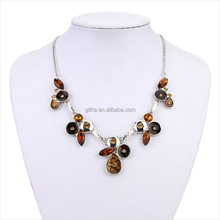 Glitta New Arrive Factory price baltic amber teething necklace latest design beads necklace wholesale GL15309