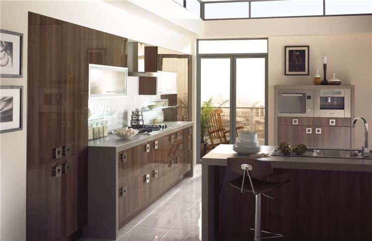 Modular Laminate /mdf Kitchen Cabinet Color Combinations