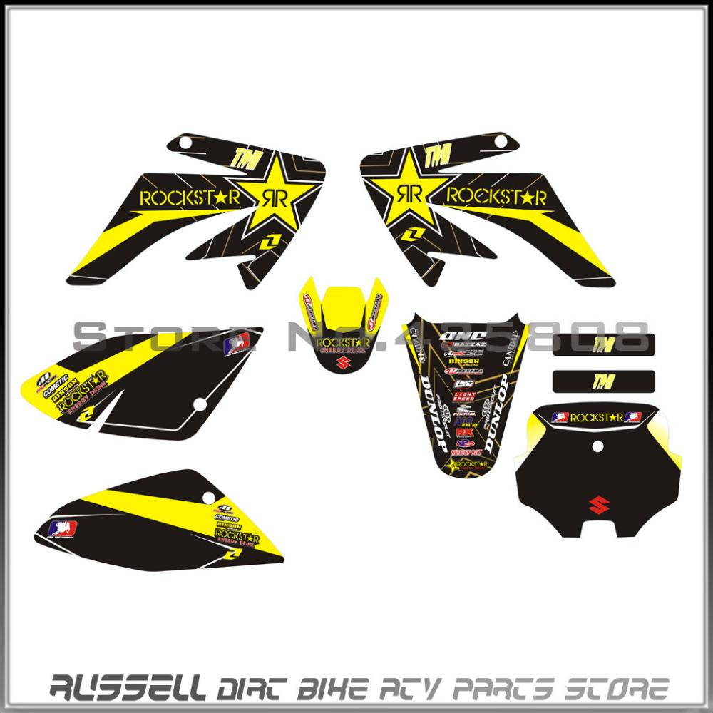 buy 3m crf70 graphics kit rockstar decals sticker for honda moto dirt pit bike. Black Bedroom Furniture Sets. Home Design Ideas