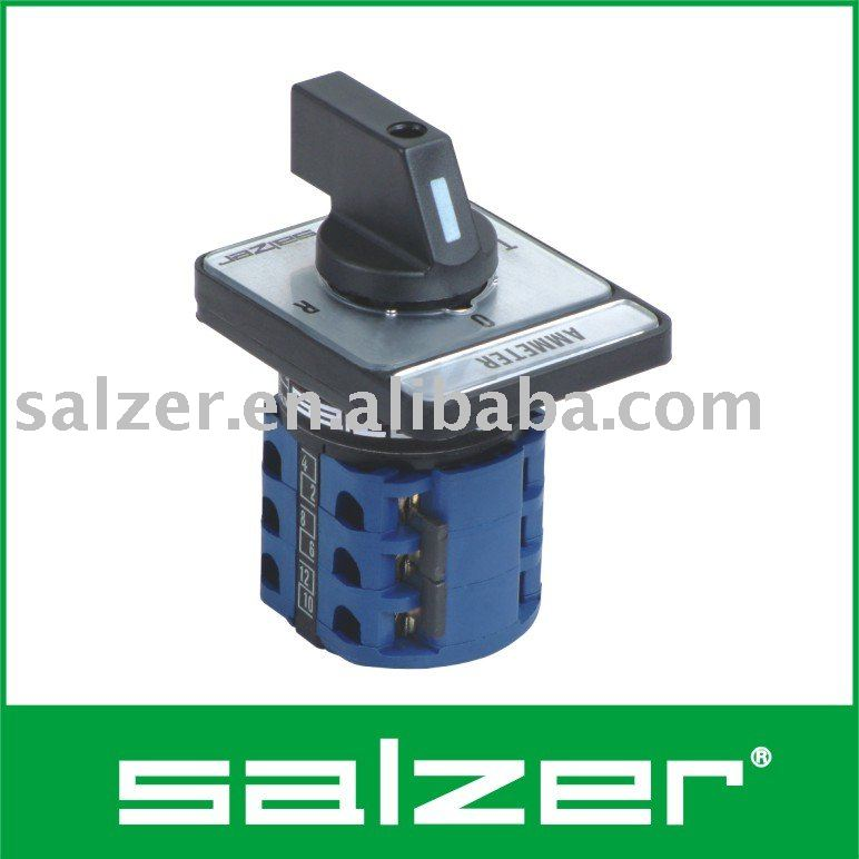 salzer ac ammeter switch tuv ce and cb approved buy ammeter rh alibaba com