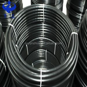 Black plastic water pe pipe roll price