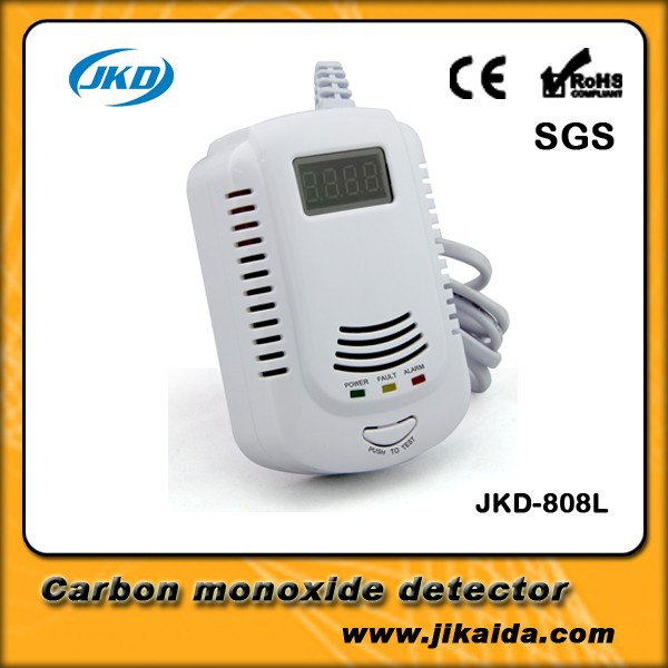 Battery Operated Lpg Gas Detector Alarm With Electrovalve