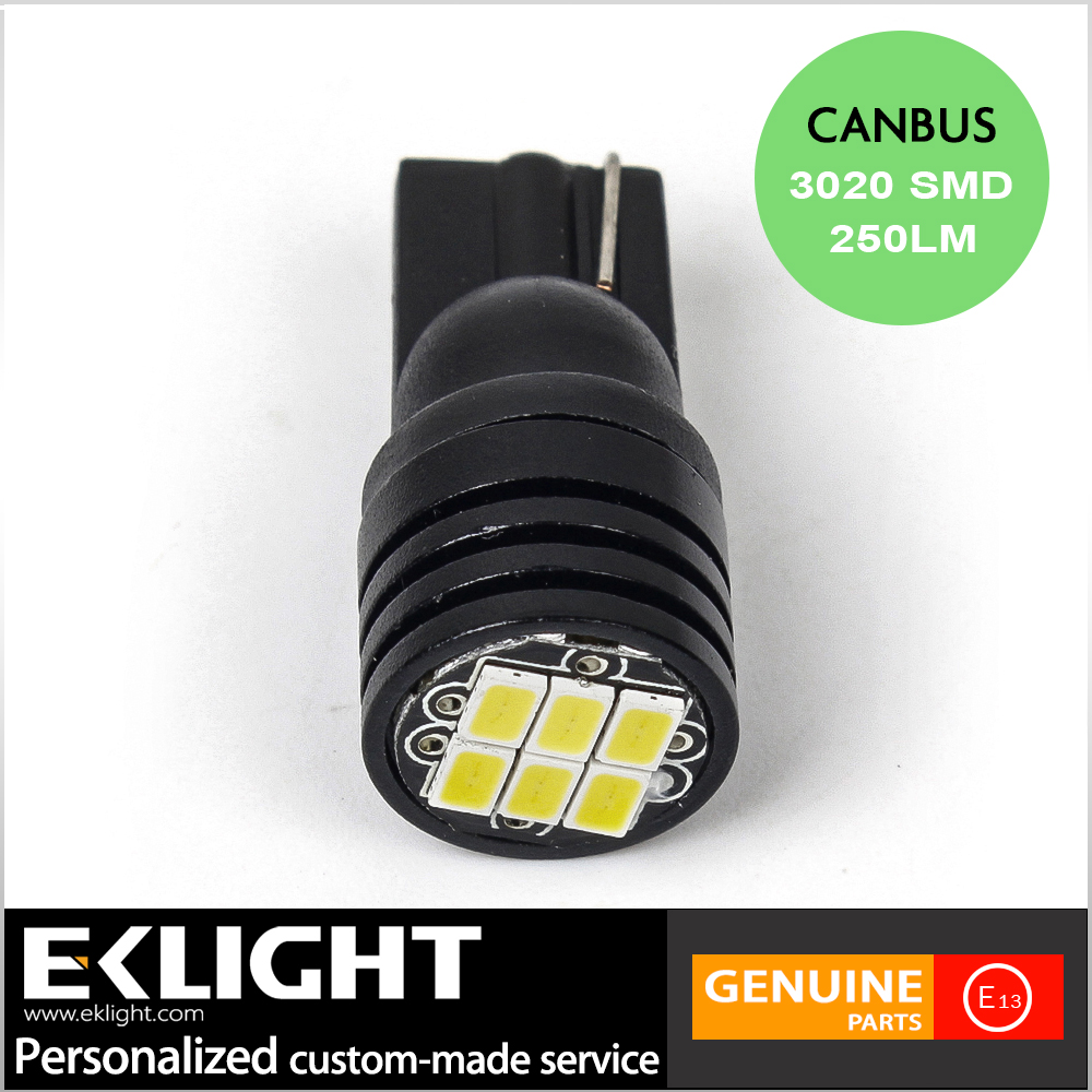 Newest led width lamp t10, universal used car bulb led lighting, Canbus Error Free led car bulb t10
