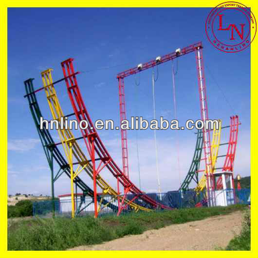 Latest!! Outdoor Amusement Park Children/Adults Game Flying Car Activity For Sell