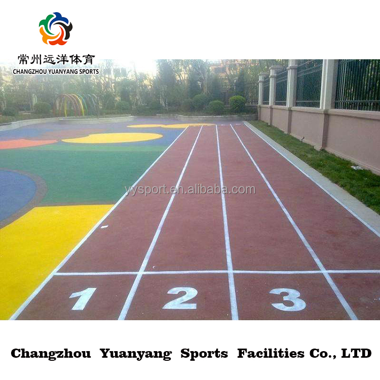 standard plastic running track synthetic epdm rubber granules