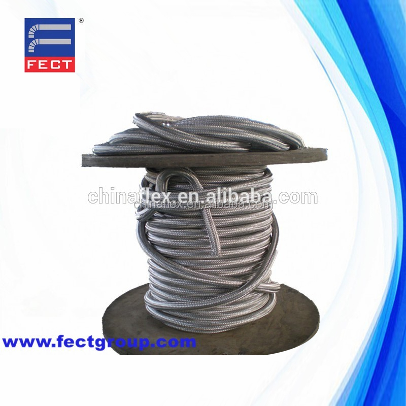 Flange Stainless Steel Corrugated Metallic Flexible Metal Hose
