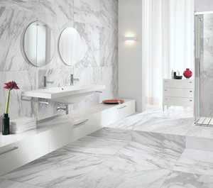 32x32 Rialto White Carrara Porcelain Floor Tile On Promotion