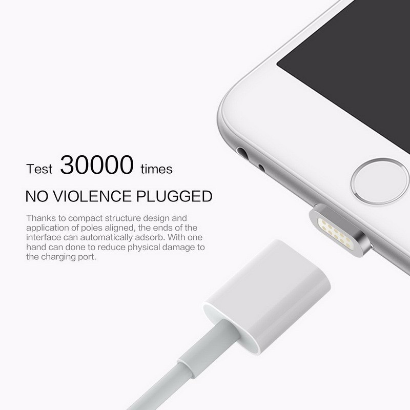 2017 Trending Products 2.1a Charging Magnetic Usb Cable For Apple ...