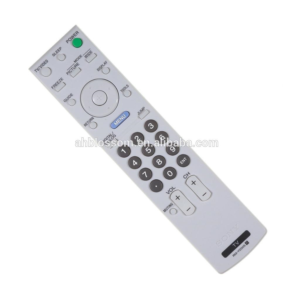 Replacement Rm-yd005 Tv Remote Control For Sony Tv Lcd Led Smart Substitute  - Buy Tv Remote Control,Remote Control For Sony Tv,Rm-yd005 Remote Control