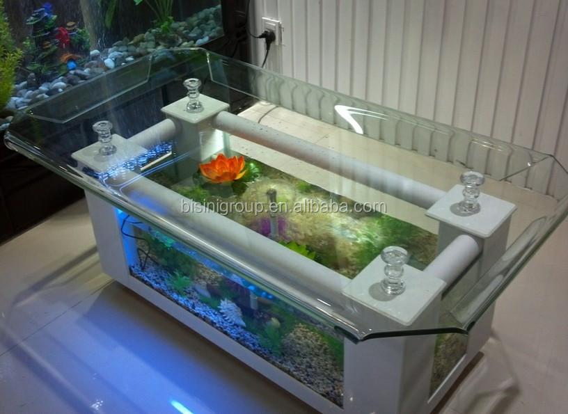 Modern Style Acrylic Rectagle Coffee Table Aquarium/ Fish Tank Table (bf09-41032) - Buy Coffee ...