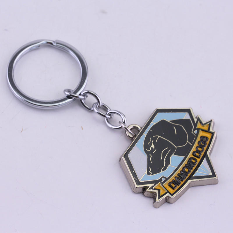 KEYCHAIN METAL GEAR SOLID 5 THE PHANTOM PAIN DIAMOND DOGS KEYCHAIN