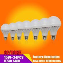 LED žárovka ( 3W 5W 7W 9W 10W 12W 15W 20W) – studená bílá / teplá bílá