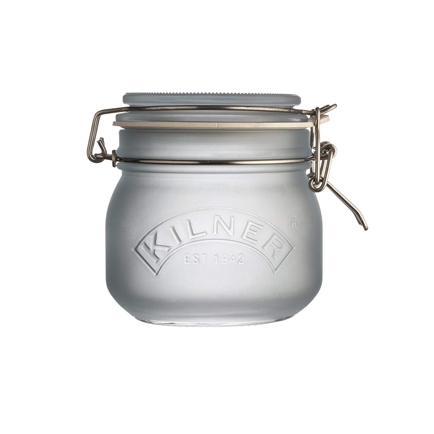 Get Quotations Kilner Frosted Gl Clip Top Jar Dry Foods And Preserve Fruits Jams