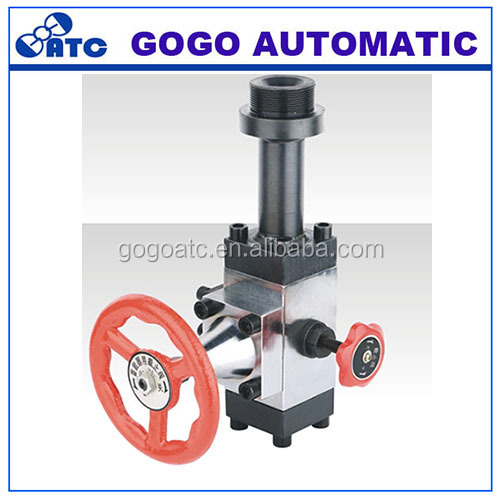 valve group for accumulator gas valves accumulator