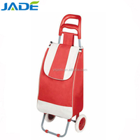 Cheap multi-function new folding wholesale shopping carts/wheeled market trolley bag