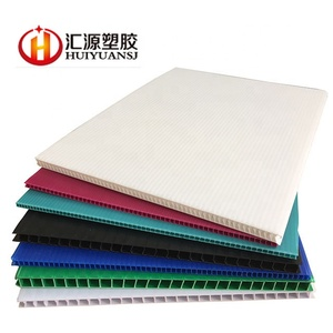 PP Corrugated Plastic Sheet / Corflute Sheet / PP Board for Packing, Signage, Protection