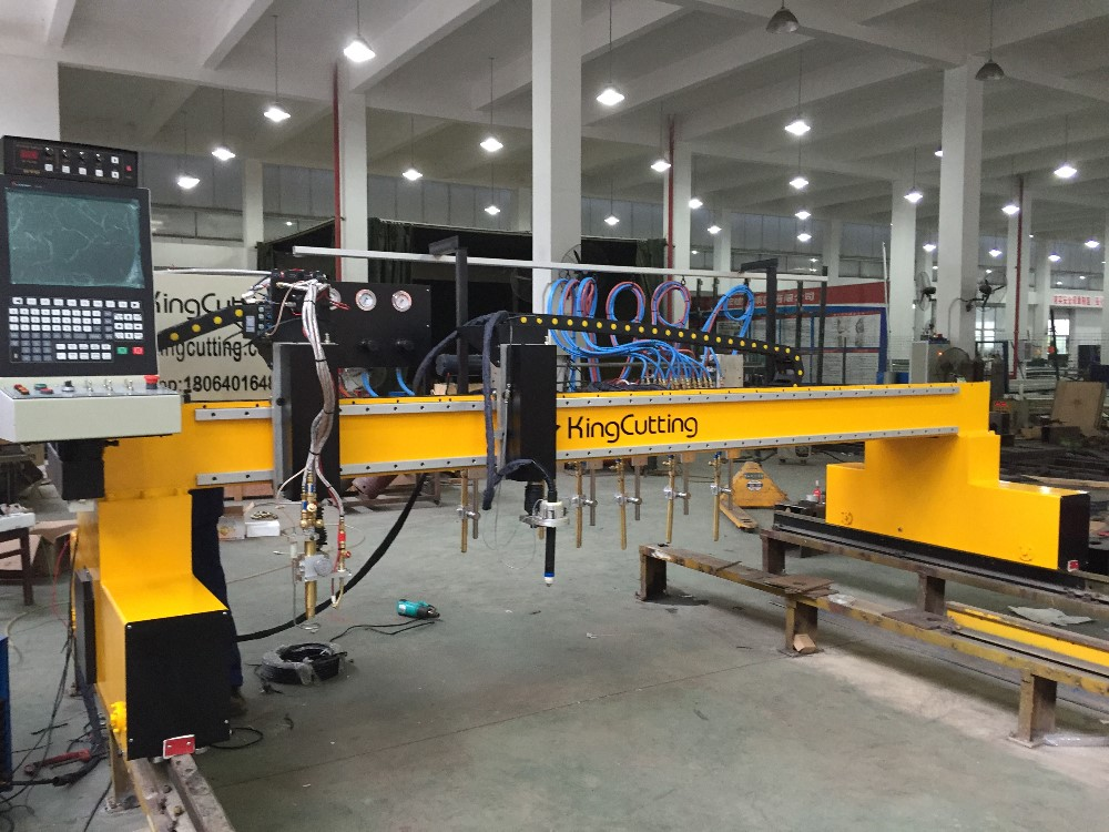 New Economical cnc plasma and flame cutting machine for iron Gantry