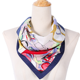 Small Vintage Soft Fashion Silk Square Scarf Scarves Elegant Women's tie Bandanas Head Wrap Head Neck Shawl Scarf Accessories