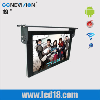 Hot sale 19inch lcd bus advertising screen monitor (MBUS-190A)