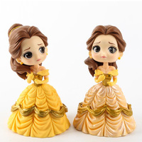 14cm Fashion Princess doll Beauty and The Beast model toys doll gifts for girls