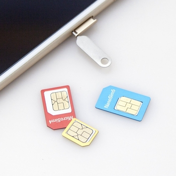 Wholesale High Quality Metal Sim Card Adapter For Any Mobile Phone