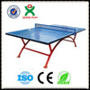 2014 folding movable tennis table/outdoor ping pong table in China QX-141G