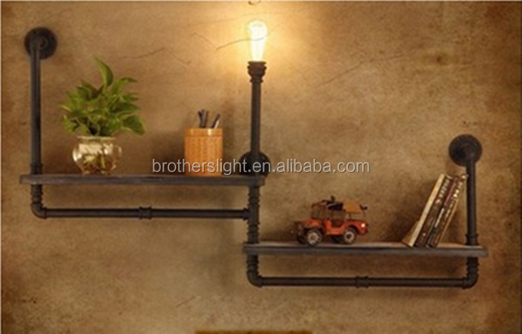 New design decorative vintage industrial style wall lights